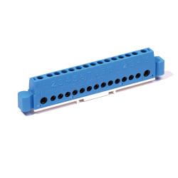Borniers clipsables sur rail DIN