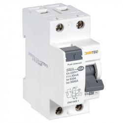 Interrupteur différentiel 1P+N 3kA, 63A type AC